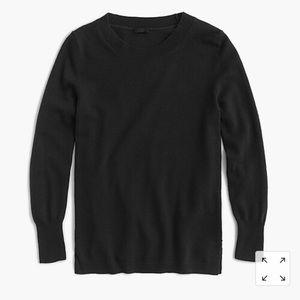 J. Crew everyday cashmere sweater 3/4 sleeve